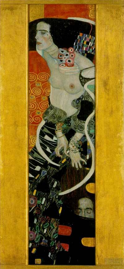 BIBLE PAINTINGS. JUDITH, Gustav Klimt, Judith