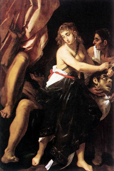 BIBLE PAINTINGS. JUDITH, Giovanni Baglione, Judith and the head of Holofernes