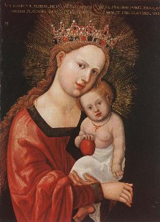 Bible study ideas: Painting of the Madonna and Child Jesus