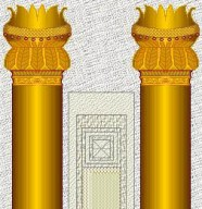 Bible study activities: The two columns at the entrance of Solomon's Temple