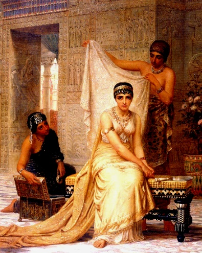 Esther Painting - 'Esther', sometimes listed as 'Vashti', by Edwin Long, 1878