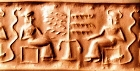 Cylinder seal from Mesopotamia: origin of the Tree of Knowledge?