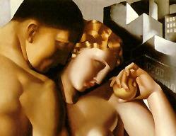 Eve & Adam, Tamara Lempicka