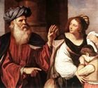 Abraham expels Hagar, Il Guernico