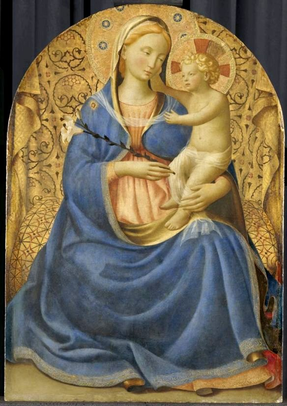 Madonna of Humility, Fra Angelico