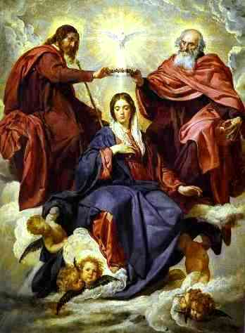 Mary crowned as Queen of Heaven, Diego Valazquez