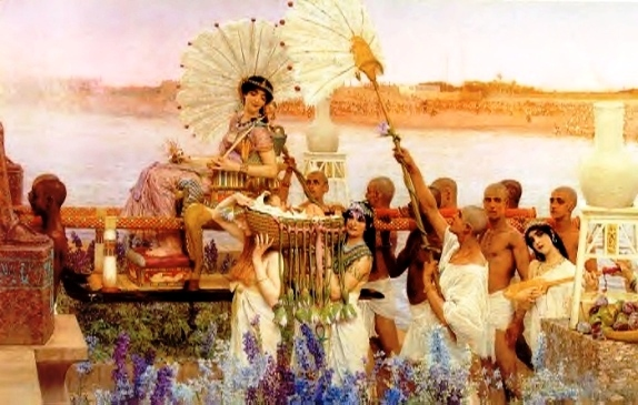 The Finding of Moses, by Sir Lawrence Alma-Tadema