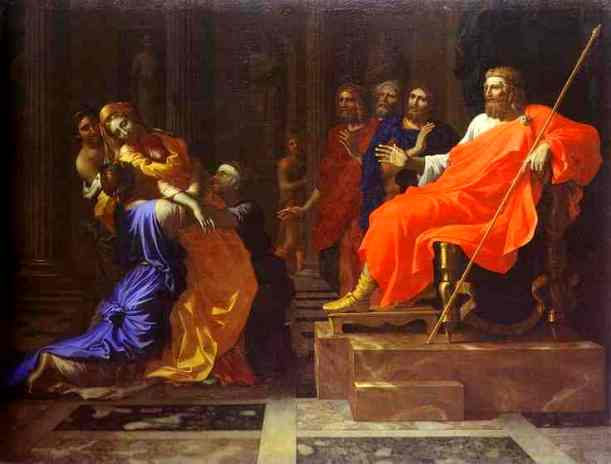 Esther Paintings - 'Esther before Assuerus', Nicolas Poussin, circa1640