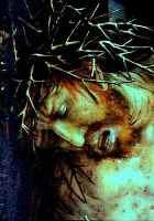 Crucifixion, by Matthias Gruenwald