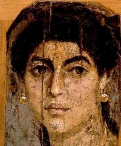 Samaritan Woman, Fayum coffin portrait