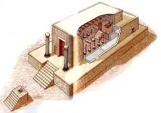 Bible Kings: Solomon's Temple in Jerusalem may have looked something like this