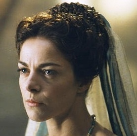 Pilate's Wife, played by Claudia Gerini
