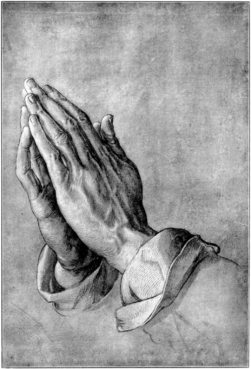 Bible Women author Elizabeth Fletcher: Albrecht Durer, Praying Hands