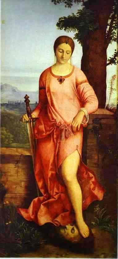 BIBLE PAINTINGS.JUDITH, Giorgione