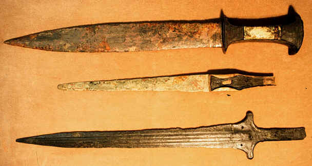 BIBLE WOMEN: DEBORAH: BRONZE WEAPONS, CANAANITE