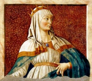 Queen Esther, by Andrea del Castagno