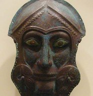 Face mask, Greek