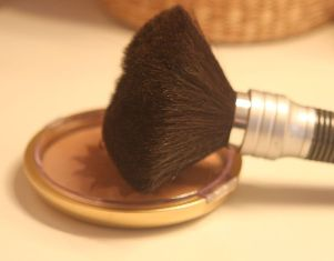 Many of the same cosmetic techniques we use today were also used in ancient times: a modern blusher
