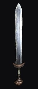 An ancient sword
