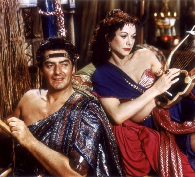 Delilah and Samson, a still from the film 'Samson and Delilah'