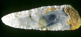 Circumcision in the Bible: blade of a flint knife