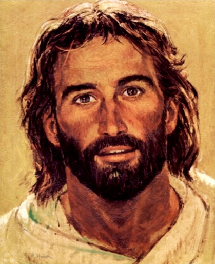 Bible Paintings - 'Head of Christ', Richard Hook
