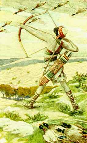 Ishmael the archer, James Tissot