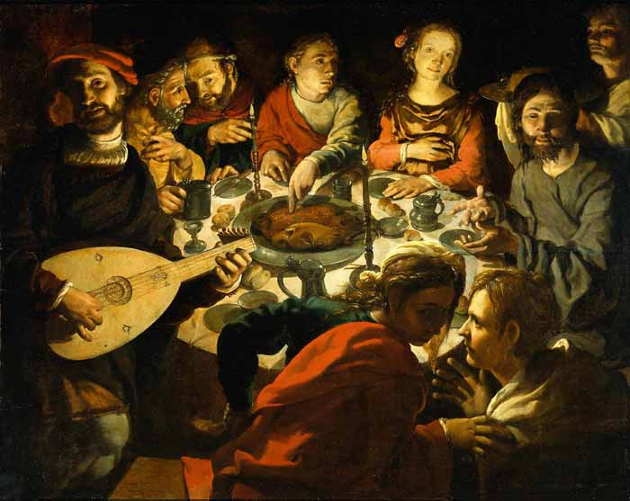 'Wedding Feast at Cana', Jan Vermeyen