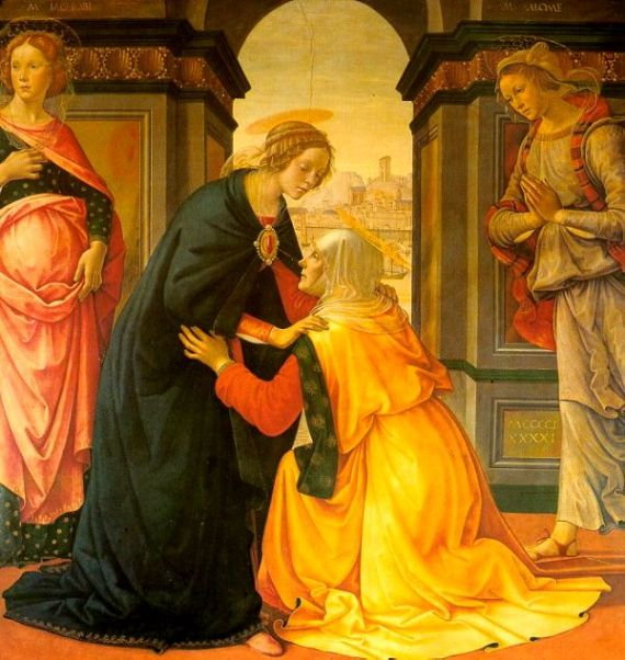 The Visitation, Ghirlandaio