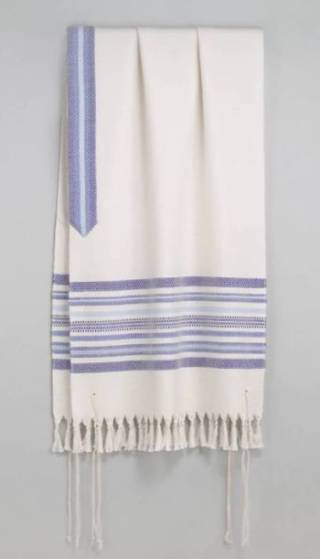 Jesus, a pious Jew, wore the fringed tallit