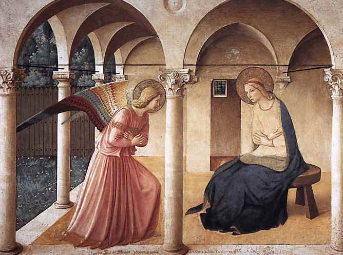 WOMEN IN THE BIBLE: THE ANNUNCIATION