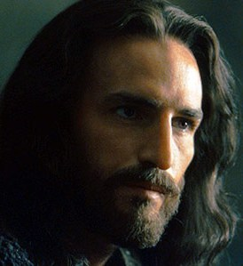 Image of Jesus, a still from the film 'The Passion of the Christ'