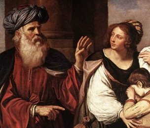 Divorce in the Bible: Abraham sends Hagar away; she was the mother of his son Ishmael
