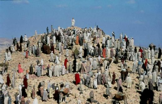 Bible movies, films. The Sermon on the Mount in 'The Life of Brian'