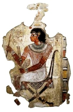 Book of Genesis, Joseph. Nebamun, Egyptian official, from a wall painting