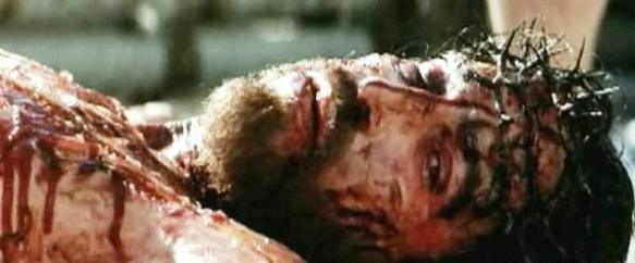 Bible movies, films. Jesus of Nazareth on the cross