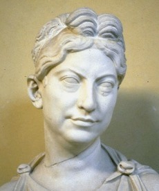 Bust of a Roman matron
