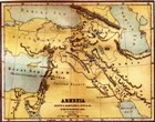 Map of the ancient world surrounding Judah and Israel