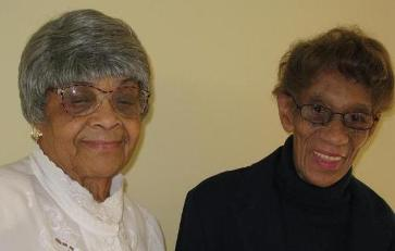Old friends: Rosemary and Lydia from Providence Community Housing