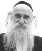 An old Jewish man