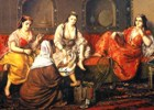 Women in a harem