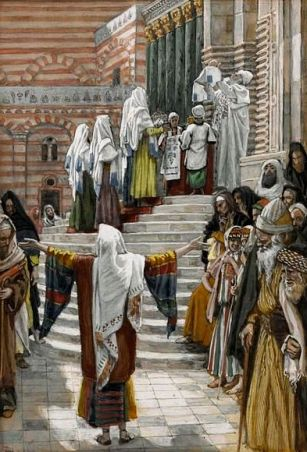 The Presentation of Jesus in the Temple, by James Tissot