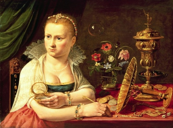 The Book of Ecclesiastesa; Vanity painting, Clara Peeters