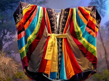 The famous Coat of Many Colours