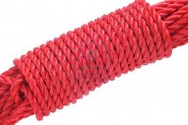 Strong red cord/rope