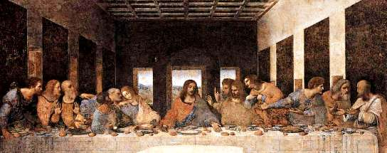 The Last Supper, Leonardo da Vinci