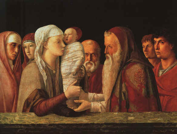 Presentation in the Temple, by Bellini