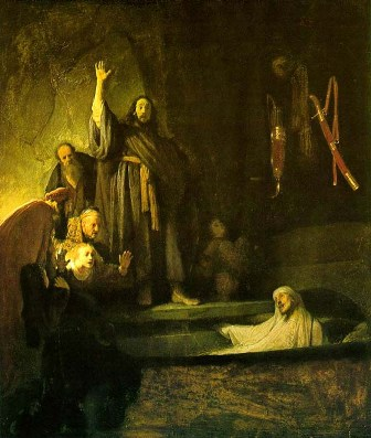 Rembrandt's 'The Raising of Lazarus'