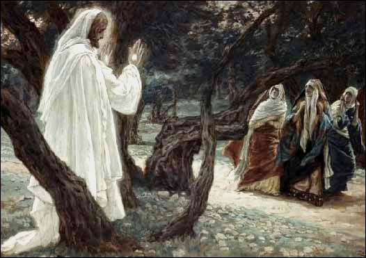 Christ Appears to the Holy Women, Tissot