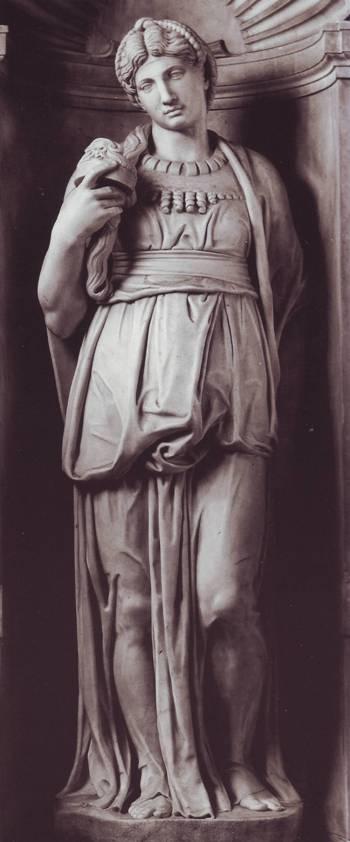 Leah, statue by Michelangelo, Rome